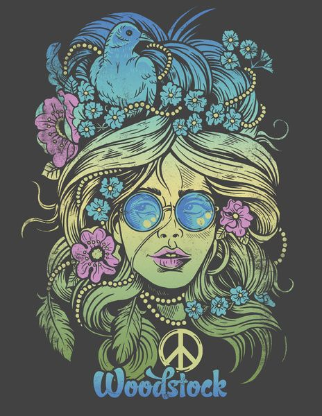 Woodstock Art Print by Derrick Castle I love this art print for Woodstock! It reminded me of Ashlie!
