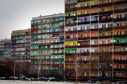 Osiedle Nowiny, Rybnik, Poland (via Panoramio - Photo of Polens erfolgreichste Platte - Dez.2011)