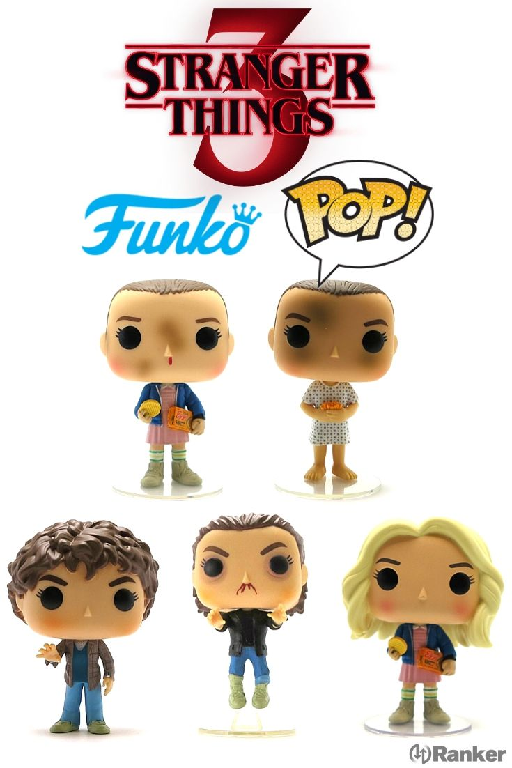 Lists Rankings About Everything Voted On By Everyone Stranger Things Funko Pop Stranger Things Characters Vinyl Figures