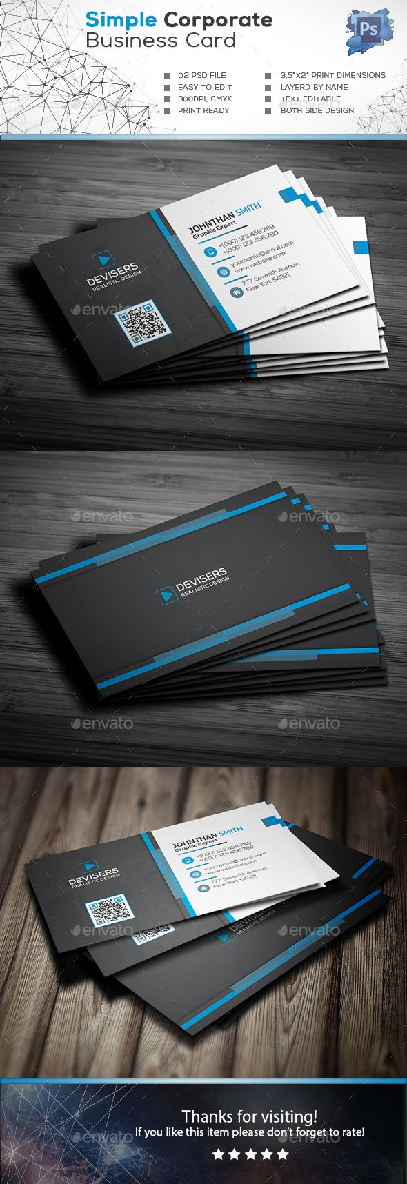 Hello There Business Card Creation Kit Images Design