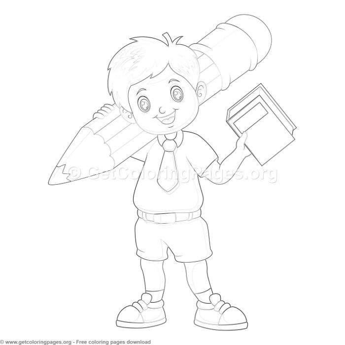 45 Back to School Coloring Pages - GetColoringPages.org # ...