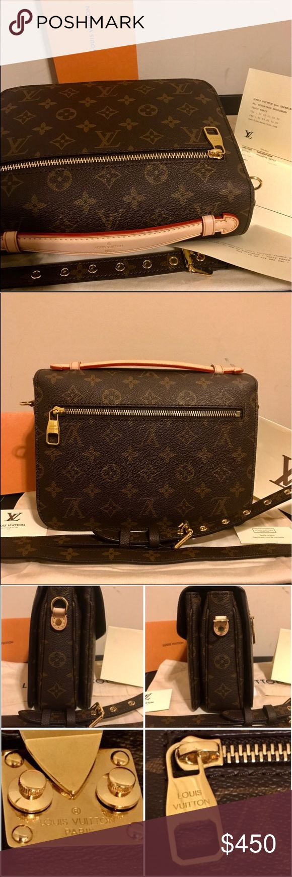 Pochette Metis Date Code: FL3175 Made in France. Photos are of the actual item you will receive. Item ships same day. Poshmark purchase preferred. Price is firm via Posh ($295 via Google wallet). Price reflects. Louis Vuitton Bags Crossbody Bags