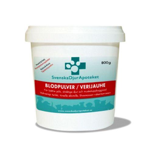 Polvo de Sangre suplemento alimenticio 800 g. Aumento de la masa muscular, para hembras embarazadas y periodos de lactancia.