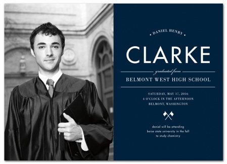 Personalized Graduation Announcements Graduation Cards  Magnets