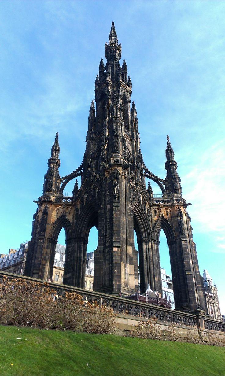 Edynburg / Edinburgh - Scott Monument
