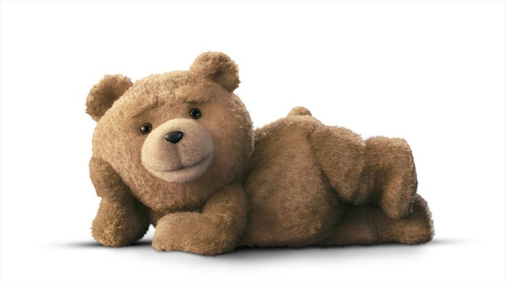 Ted! Would you sleep with this cuddly teddy bear?