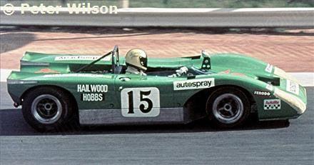 Mike Hailwood / David Hobbs - Lola T210 Ford - Mike Hailwood - The Thirteenth Rand Daily Mail Nine Hour Endurance Race - Kyalami 9 Hours - 1970 Shell Drivers Cup, round 1