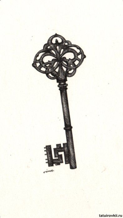 Pin Antique Skeleton Key Tattoos Otugunesa On Pinterest