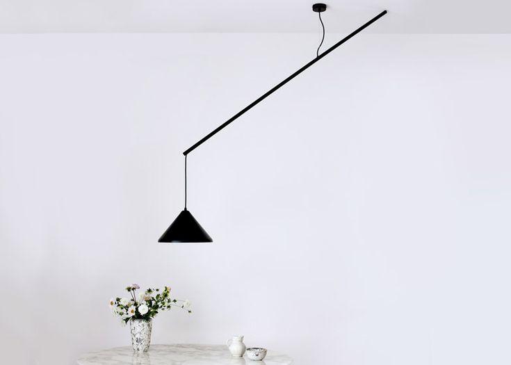 T.D.C   Umleiter suspension lamp by Veronika Gombert
