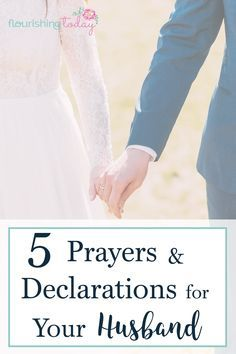 Do you find it difficult to pray for your husband? Here you'll find some sample prayers for your husband to help him to succeed in 5 key areas.