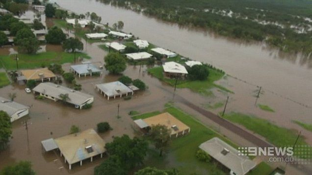 Hundreds of residents have been evacuated from flood effected Daly River