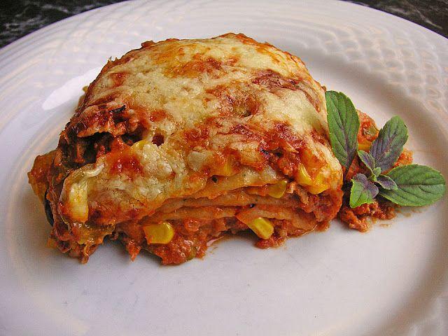 Plus Rezepte: Mexikanische Enchilada-Lasagne
