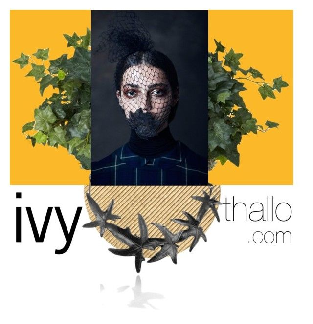 ivy necklace thallo.com by thallo on Polyvore featuring Arteriors and Nearly Natural