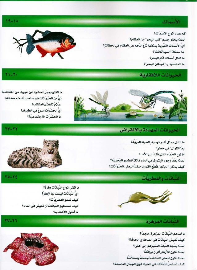 موسوعة سؤال وجواب عالم الطبيعة Books