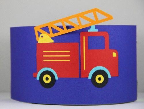 Verjaardagsmuts.nl|Handgemaakte persoonlijke verjaardagsmutsen - Onderweg - Brandweerauto