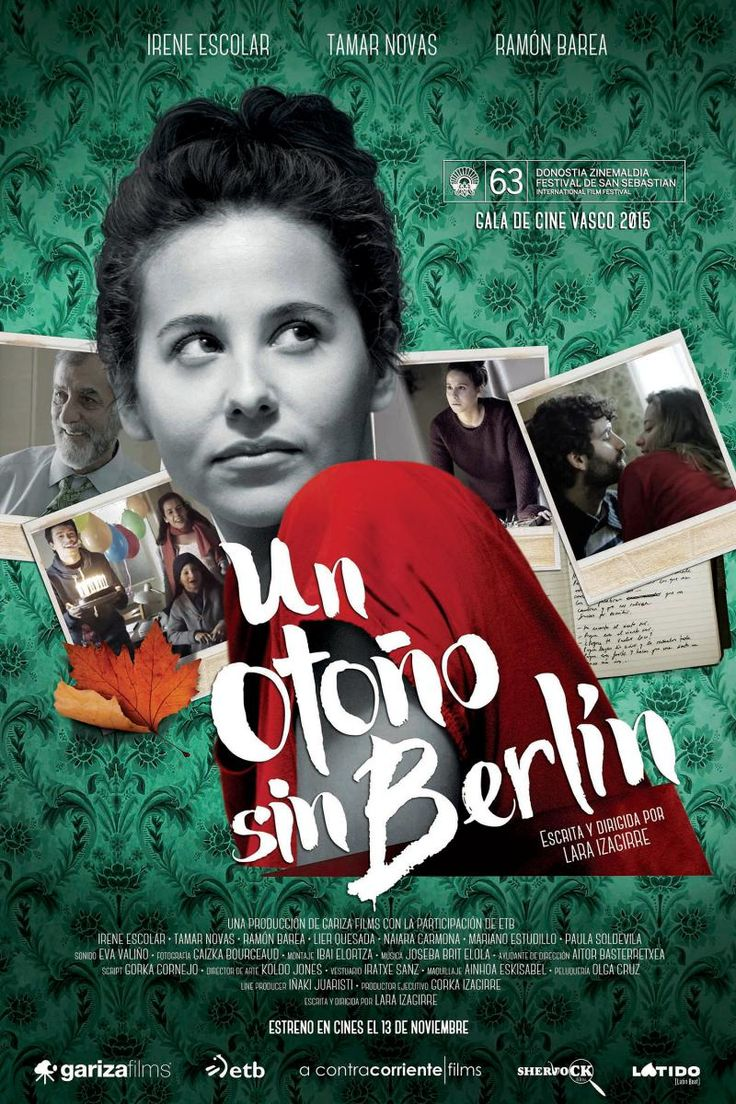 Un otoño sin Berlín (2015) España. Dir.: Lara Izagirre. Romance. Drama - DVD CINE 2420