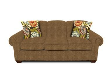 Wampum Prairie with Cabrio Garden. Shop for England Sofa, 1435, and other Living Room Sofas at England Furniture in New Tazewell, TN. Anyone can appreciate the beautiful versatility of our Monroe group and all the options that come along with it! This transitional collection includes a sofa, loveseat, queen sleeper, chair-and-a-half, ottoman, and multiple sectional configurations.