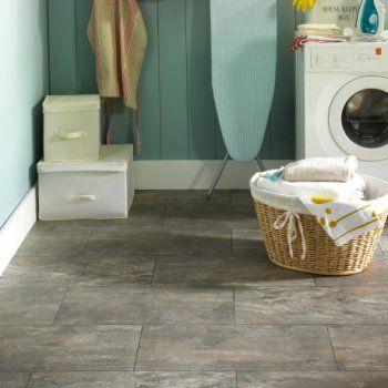 Polyflor Camaro Ocean Slate Vinyl Flooring Tiles - Every Floor Direct