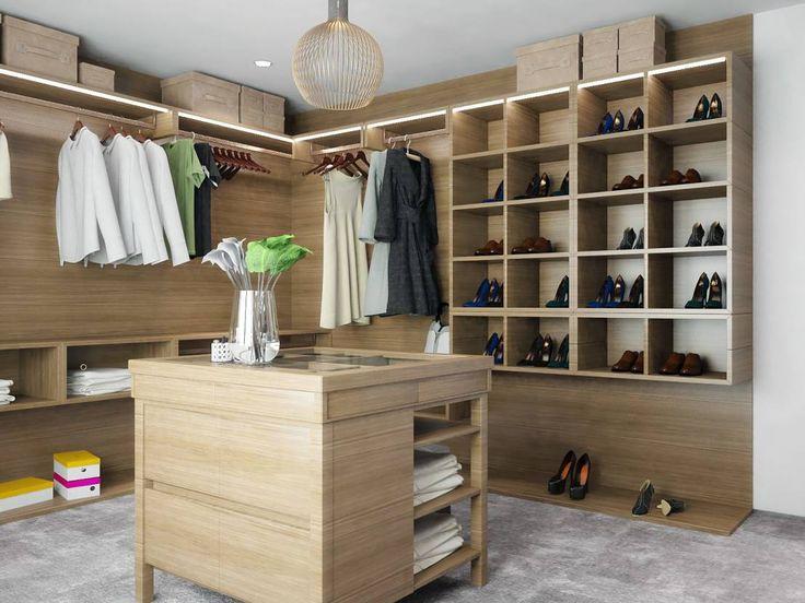 Organiza tu #hogar: 7 #vestidores y #armarios PRECIOSOS https://www.homify.es/libros_de_ideas/622250/organiza-tu-hogar-7-vestidores-y-armarios-preciosos
