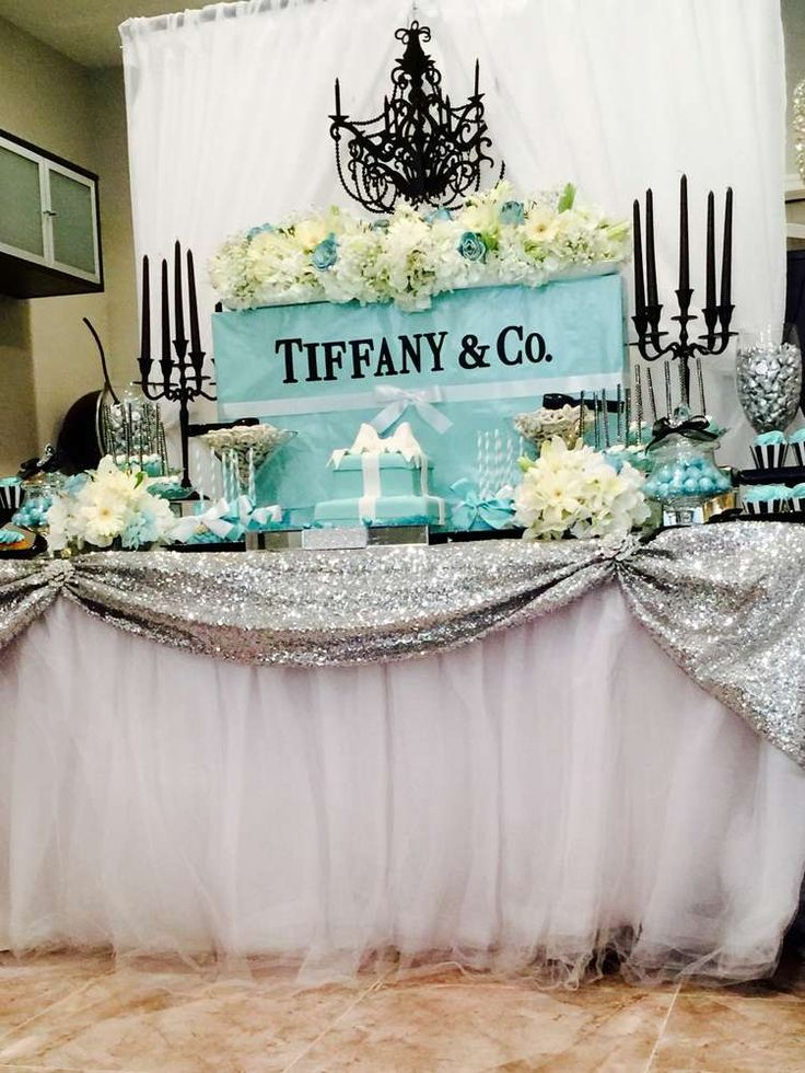 Tiffany and Company BridalWedding Shower Party Ideas