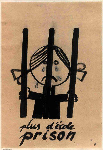 Mai 68 Plus d'école prison