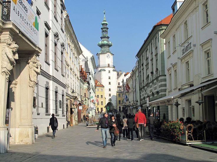 St. Michael's Gate, Bratislava, Slovakia:  - VirtualTourist