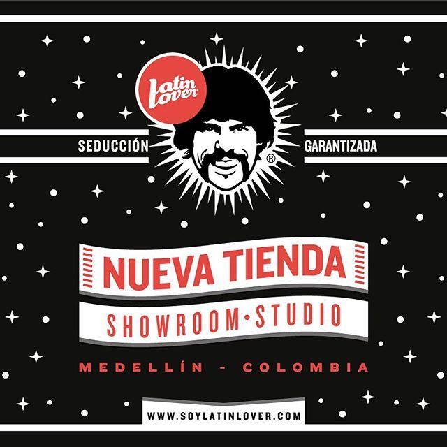 Nueva tienda Latin Lover / Showroom Studio en Medellín Cra 35 # 8a - 59 Local 203 segundo piso frente a la tienda @elsocial1969  Este sábado 30 de Enero evento de apertura, todos invitados  #LatinLoverGroup