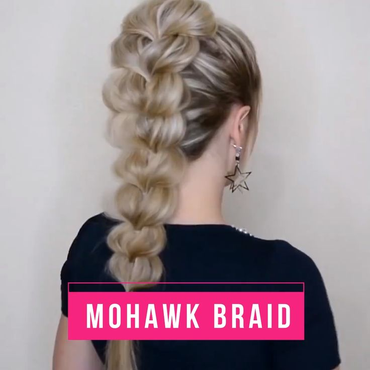 This braid is edgy but also classy! Try it!😍
