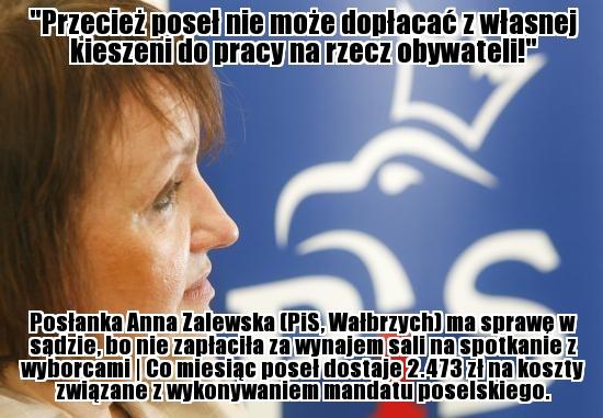 Anna Zalewska (PiS, Wałbrzych) - http://wiemkogowybieram.blogspot.com/2012/10/anna-zalewska.html