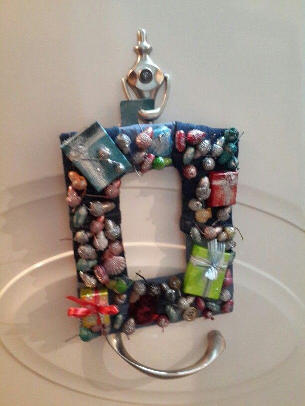wreath for front door with acorns