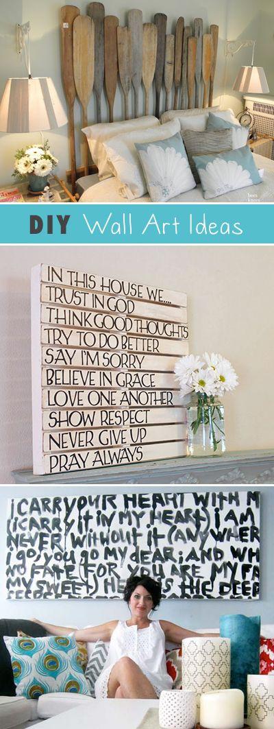 DIY Wall Art • Ideas & Projects!