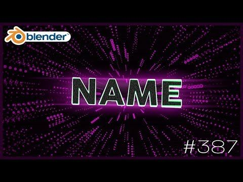Blender Intro Template 387 Free Download