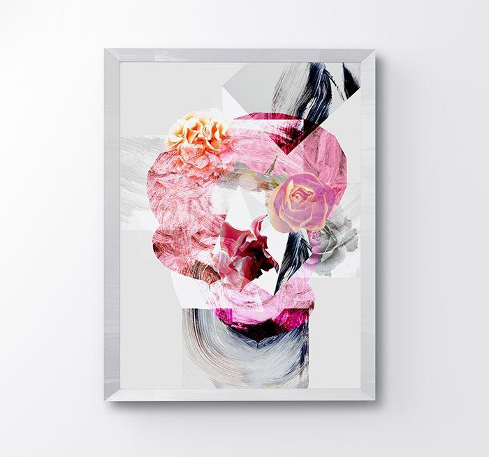 graphic, illustration, pink, www.katarzynakucwaj.com