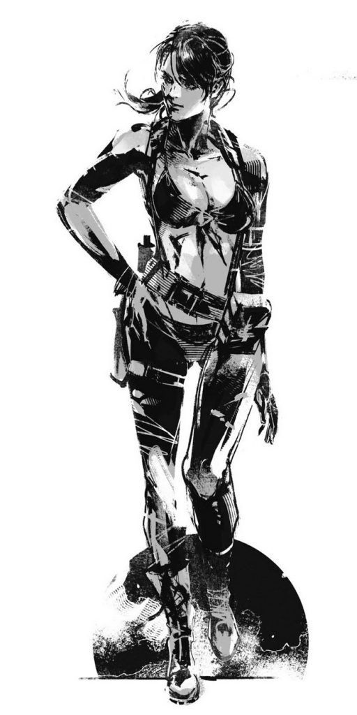 MGS5 The Phantom Pain Art - Yoji Shinkawa