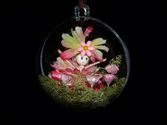 Bubble Garden 4  Faerie Fairy Miniature Mushroom by FaerieNursery, $40.00
