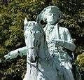 Equestrian statue of Karl Wilhelm Ferdinand, Duke of Brunswick-  Lors de la 4° coalition, Brunswick recouvre le commandement de l'aarmée prussienne mais est griévement blessé à Auerstaedt le 14 octobre..