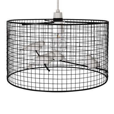 MiniSun 35cm Avis Metal Drum Ceiling Shade
