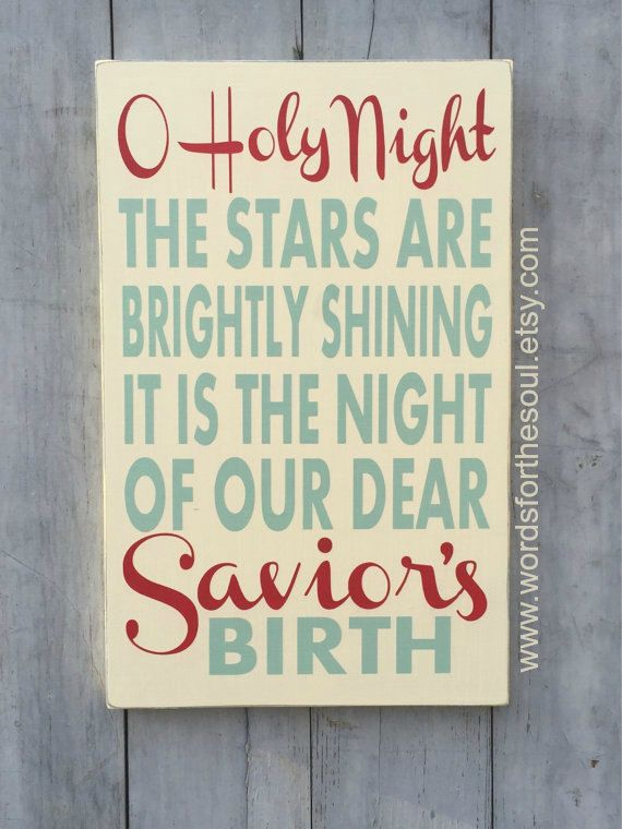 1000 ideas about christmas typography on pinterest for O holy night decorations