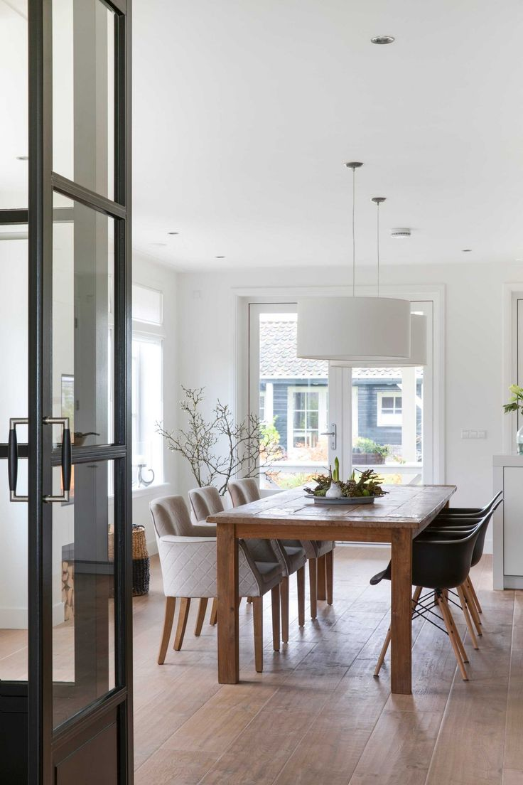 10 beste idee n over open ruimte wonen op pinterest open woonkamer open plan en betonvloeren - Idee outs semi open keuken ...