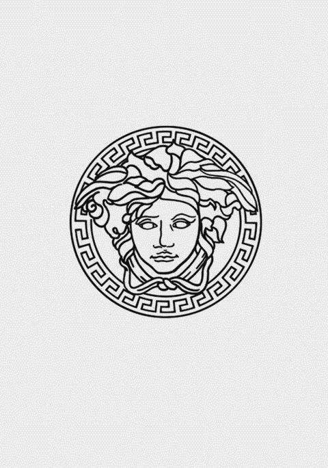 I discovered the other night that this is actually a depiction of medusa! I love learning