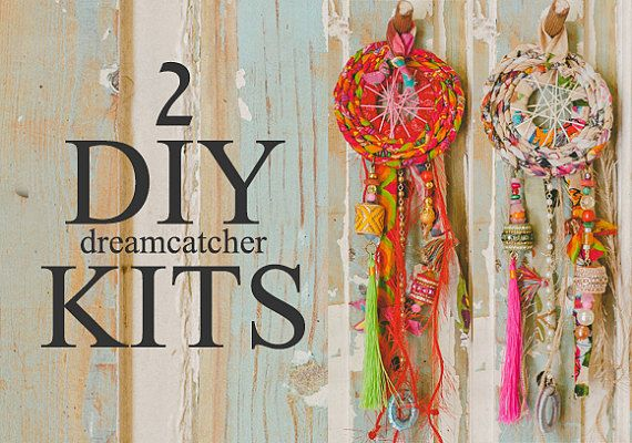 Mother and daughter gifts Party activity Dreamcatcher by ATLIART