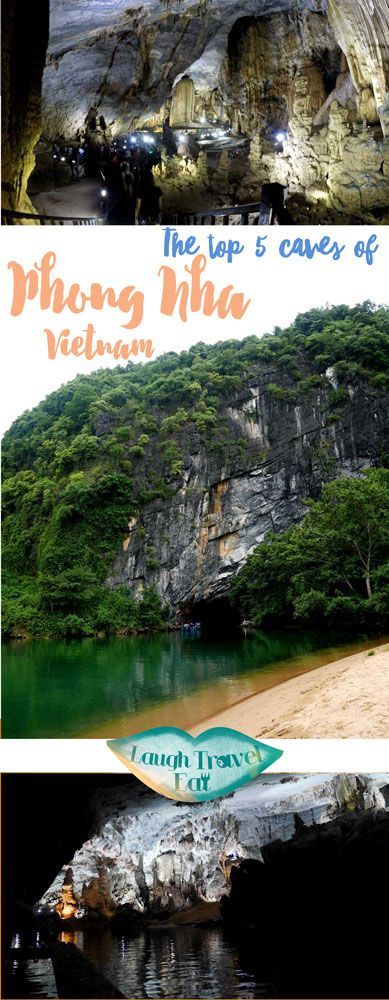 Phong Nha Ke Bang National Park in Vietnam has hundreds of caves, but these are the 5 to look out for!