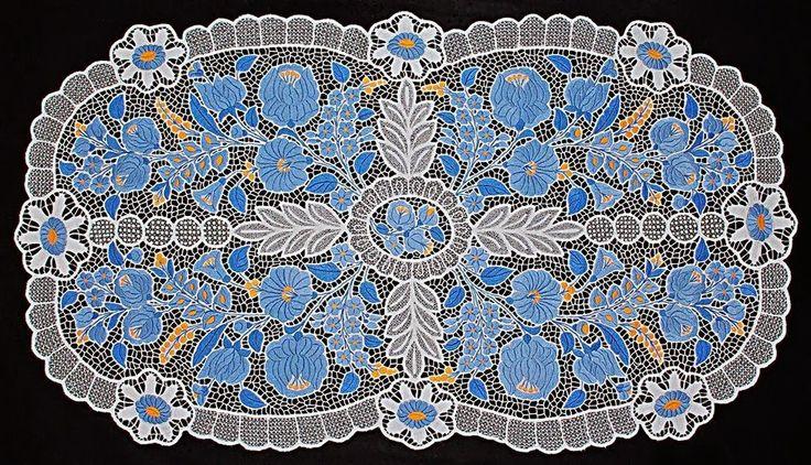 Kék kalocsai