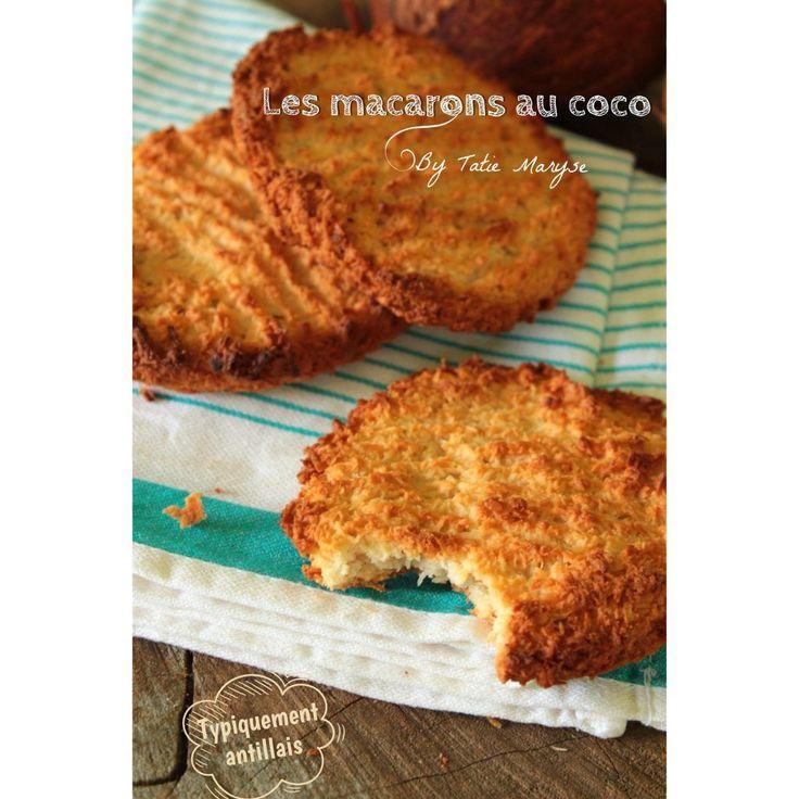 macarons antillais au coco