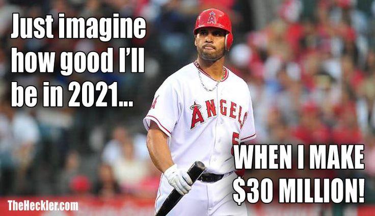 Albert Pujols Will Make A Lot Of Money In 2021 Baseball Albert Pujols Memes