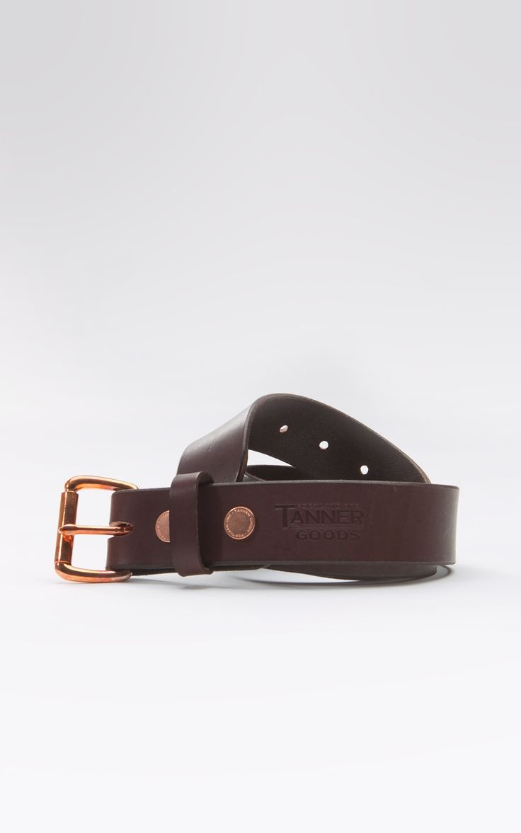Tanner Goods Standard Belt Havanna/Copper
