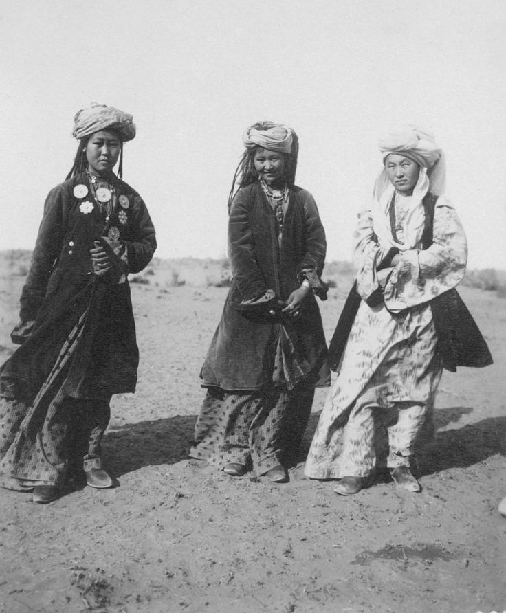 Kazakh women - the medals