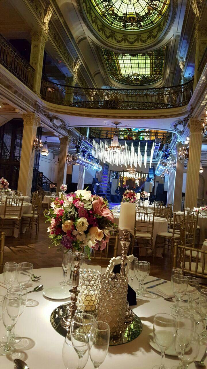 Casamiento en Palacio San Miguel, organizado por Caro Arne Eventos. Buenos Aires, Argentina