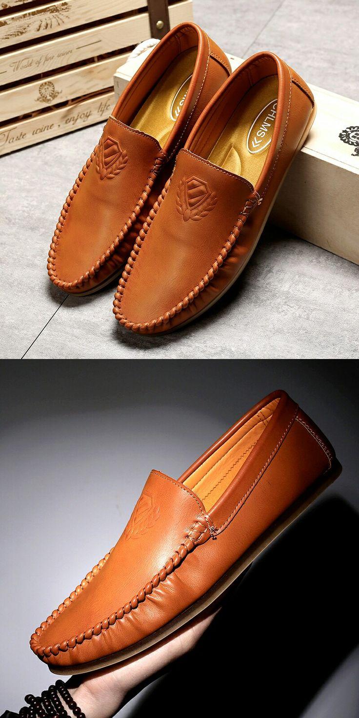 >> comprar aqui << Prelesty Alta Calidad Respirable de Los Hombres Zapatos de Vestir Clásicos Mocasines Conducción Resbalón En los Zapatos de Hombre Zapatos de Los Planos Ocasionales Masculinos