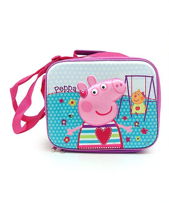 Peppa Pig Playground Lunch Bag